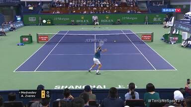 Masters 1000 - Xangai - Final - Medvedev x Zverev