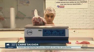 Aumento das exportações provoca disparada do preço da carne bovina - Em 2019, vários frigoríficos brasileiros aumentaram as vendas para a China.