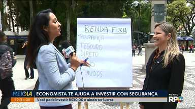 Economista dá dicas para investir com segurança - E olhe só: é possível investir com apenas R$30 reais