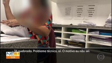 Equipamento do Hospital do Câncer de Pernambuco que faz exames de tomografia está quebrado - Pacientes não sabem quando vão conseguir fazer o exame.