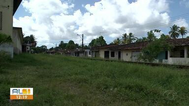 Rua do Recreio, em Maceió, está cheia de mato - Problema é antigo em via do bairro Fernão Velho.