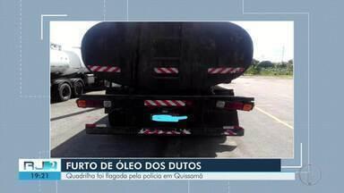 Onze pessoas são detidas furtando óleo de dutos da Petrobras em Quissamã - Caso aconteceu nesta quinta-feira (17) e está sendo investigado pela Polícia Civil.