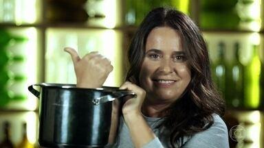 Ana Bueno apresenta Peixe com banana - Confira se ela conseguiu entrar no programa