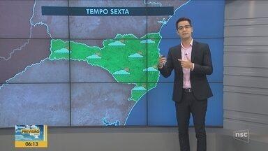 Confira a previsão do tempo para Santa Catarina - undefined
