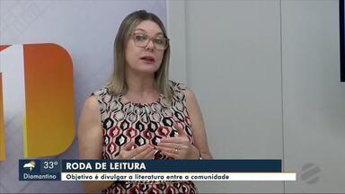 Projeto tem objetivo de divulgar a literatura entre a comunidade em Tangará da Serra - Projeto tem objetivo de divulgar a literatura entre a comunidade em Tangará da Serra