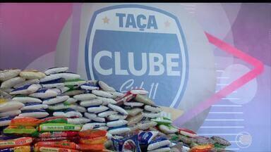 Semifinais e final da Taça Clube Sub-11 rendem 1 tonelada de alimentos para instituição - Semifinais e final da Taça Clube Sub-11 rendem 1 tonelada de alimentos para instituição