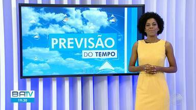 Confira a previsão do tempo para Salvador e interior do estado - No sábado (19), o sol aparece mas com chuva rápida pela manhã no litoral baiano.