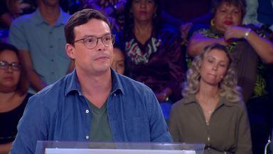 Frederic participa do Quem Quer Ser Um Milionário - Participante continua o jogo