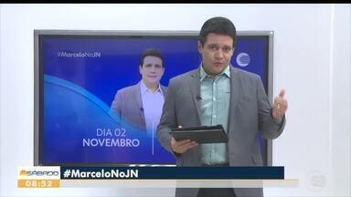 Marcelo Magno fala sobre participação no Jornal Nacional em novembro - Marcelo Magno fala sobre participação no Jornal Nacional em novembro