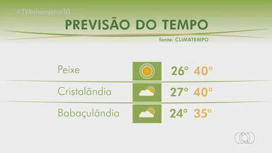 Veja como fica o tempo para essa semana no Tocantins - Veja como fica o tempo para essa semana no Tocantins