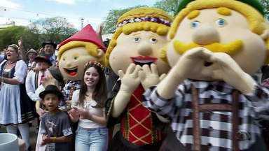Oktoberfest de Santa Cruz chega ao seu último fim de semana - Veja como foram as atrações.