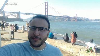 #InTodoCantoTemCearense: Yrineu Rodrigues, de Juazeiro do Norte, mora na Califórnia - Cearense é desenvolvedor de software e mora na cidade de San José, no estado da Califórnia/EUA.