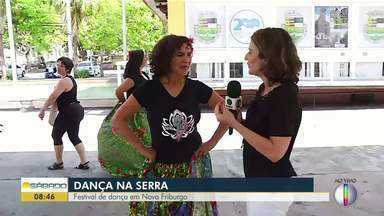 Festival de dança reúne cerca de 200 bailarinos em Nova Friburgo - Assista a seguir.