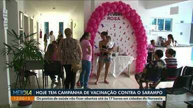 Dia D de vacinação contra o sarampo é realizado hoje em todo Paraná - Os atendimentos nos postos de saúde vão até as 17 horas.