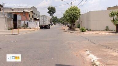 Moradores reclamam de cruzamento no Jardim Guanabara, em Goiânia - No local, já ocorreram acidentes.