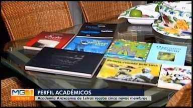 Cinco novos membros são empossados na Academia de Letras de Araxá - Posse dos escritores ocorre em solenidade realizada neste sábado (19) no Teatro Municipal. A equipe da TV Integração conversou com os novos membros da Academia de Letras.
