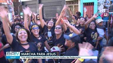 Marcha para Jesus acontece no Engenho Velho de Brotas neste sábado - Ações sociais e caminhada acontecem no bairro.