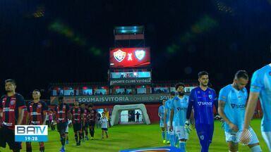Vitória perde para o Londrina e volta a se aproximar da zona de rebaixamento - O resultado da partida foi de 1 x 0 para o time de fora.