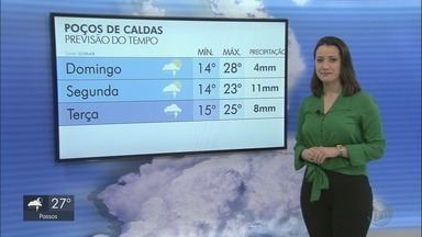 Confira a previsão do tempo para este domingo no Sul de Minas - Confira a previsão do tempo para este domingo no Sul de Minas