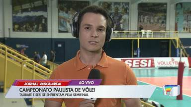 Taubaté enfrenta o Sesi na semifinal do Paulista de Vôlei - Veja as informações do link.