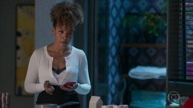 Gisele fica tensa pensando na decisão de Diogo - undefined