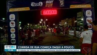 Colatina tem trânsito interditado para corrida de rua - Entenda as mudanças.