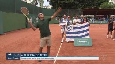 60ª edição do Torneio A Tribuna de Tênis começou neste sábado (19) - Campeonato acontece até o dia 5 de novembro.