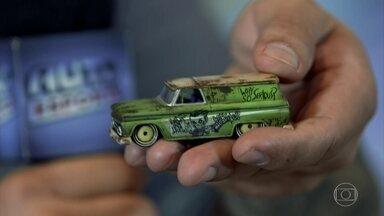 Customização faz miniaturas parecerem modelos reais - Confira a customização de miniaturas e modelos em tamanho real que parecem carrinhos de brinquedo.