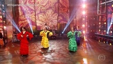 Engana Que Eu Gosto: Dança Flamenca - Tente adivinha quem é a enganadora