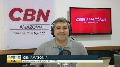 Confira os destaques da CBN Amazônia desta segunda-feira (21) - Confira os destaques da CBN Amazônia desta segunda-feira (21).