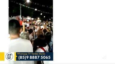 Festejos de Nossa Senhora de Nazaré são encerrados no Montese - Saiba mais em g1.com.br/ce