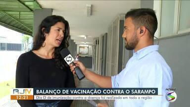 Dia D de imunização contra o sarampo é realizado em todo Sul do Rio - Mais de mil moradores da região se imunizaram conta a doença.
