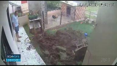 Homem explode quintal ao tentar matar baratas - Ele usou veneno em spray e gasolina e na sequência ateou fogo em buraco da fossa que estava cheia de baratas. Acabou ocorrendo uma explosão no quintal