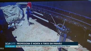 Mulher é morta a tiros pelo ex-marido - Uma professora de 33 anos foi morta a tiros em Pinhão, na região central do Estado. O ex-marido dela foi preso em flagrante e confessou o crime.
