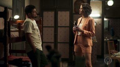 Jô conhece William - Ela procura Evelina e pede ajuda. A patricinha arma para prejudicar Régis
