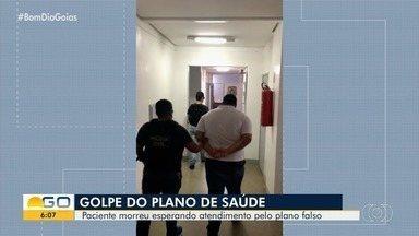 """Idosos são vítimas de golpe em Goiás - Criminosos enganavam as vítimas com oferta de """"planos de saúde""""."""