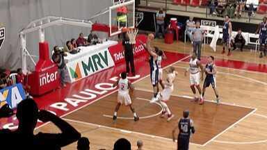 Mogi Basquete vence o São Paulo - Partida foi pelo NBB na Capital.