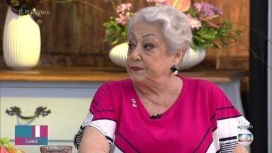 Suely Franco fala sobre o amor entre idosos retratado em 'A Dona do Pedaço' - Ana Maria, Suely e Nívia Maria comentam a importância de se discutir o assunto nas novelas