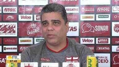 Técnico do CRB, Marcelo Cabo fala da reta final da Segundona do Brasileiro - Time terá confronto direto contra o Botafogo-SP, quinta-feira, no Rei Pelé