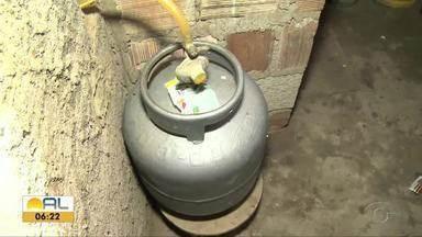 Preço do gás de cozinha em Alagoas vai estar mais caro a partir de hoje - Botijão de 13 kg que custava entre R$ 60,00 e R$ 65,00 pode chegar R$70,00