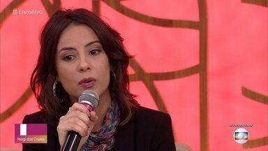 Andreia Horta está em cartaz em 'Jardim de Inverno' - Atriz fala sobre o espetáculo