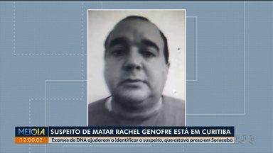Suspeito de matar Rachel Genofre é ouvido pela segunda vez - Polícia disse que há contradições no que ele contou em cada interrogatório.