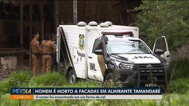 Homem é morto a facadas em Almirante Tamandaré - Corpo foi encontrado em um forno.
