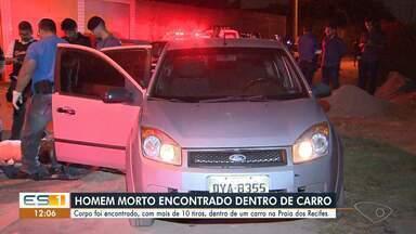 Homem é morto com vários tiros em praia em Vila Velha, ES - A Polícia Civil instaurou um inquérito para identificar os autores e a motivação do crime.