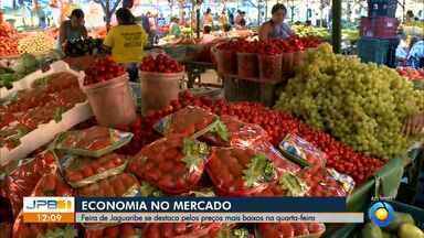 Saiba as vantagens de fazer compras em mercados públicos - Feira de Jaguaribe se destaca pelos preços mais baixos na quarta-feira