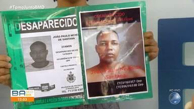 Desaparecidos: famílias procuram por parentes na Praça da Piedade - Quem tiver informações sobre as pessoas procuradas deve ligar para a Polícia Civil.