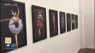 Exposição fotográfica sobre balé acontece em Uberlândia - Fotos são da jornalista Fernanda Torquato que mostra, nos registros feitos entre 2015 e 2018, a sensibilidade e a força de bailarinos.