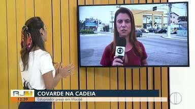 Polícia prende suspeito de invadir casa e estuprar mulher em Macaé, no RJ - Homem foi preso nesta terça-feira (22) em Duque de Caxias, na Baixada Fluminense.