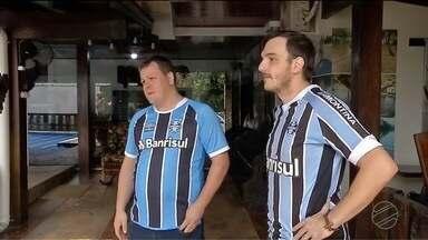 Dois amigos de Sinop estão confiantes, o Grêmio leva sim a vaga para final da libertadores - Dois amigos de Sinop estão confiantes, o Grêmio leva sim a vaga para final da libertadores.