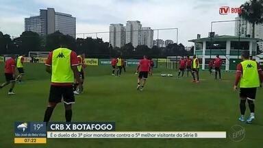 Botafogo-SP enfrenta o CRB-AL por vaga no G-4 da Série B - Jogo acontece nesta quinta-feira (24) em Maceió (AL).